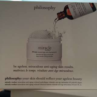 Philosophy Miracle Worker