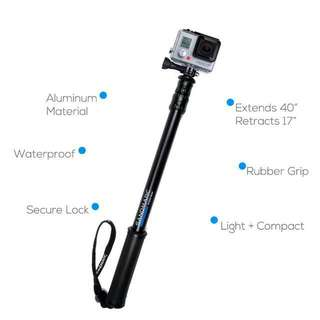 "2015 Edition SandMarc Pole Black Edition For Gopro And Other Cameras 17"" - 40"" (101cm)"