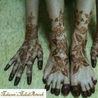 Henna Artwork