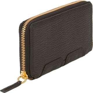 AUTHENTIC 3.1 Phillip Lim Pashli Zip-Around Wallet in Black