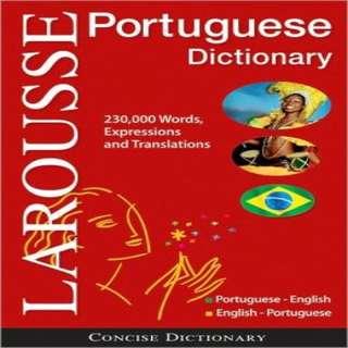 Larousse's Brazilian Portuguese Dictionary