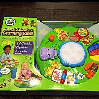 BN Leapfrog Learning Table