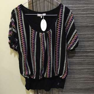 BNWT VIVI Lace Top (size XL)