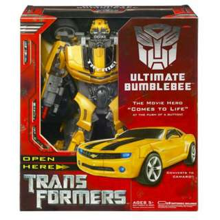 Ultimate bumblebee transformers Movie (Masterpiece, Fansproject, Mmc) Takara, Hasbro