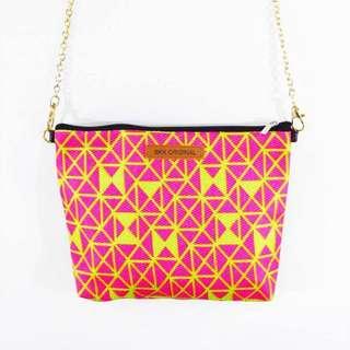 三角幾何-粉紅-