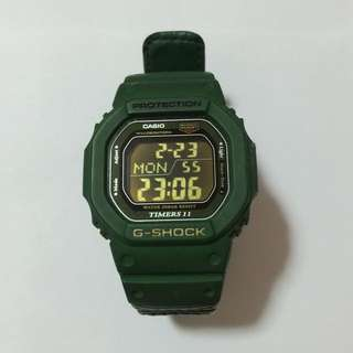 @only $55~Authentic Green Casio G-Shock Timers 11 DW-56RTB [2991]