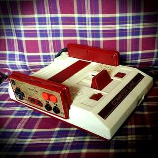 Vintage Famicom Console