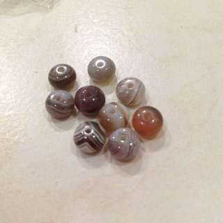 7x5mm Persian Agate Rondel Shape Bead