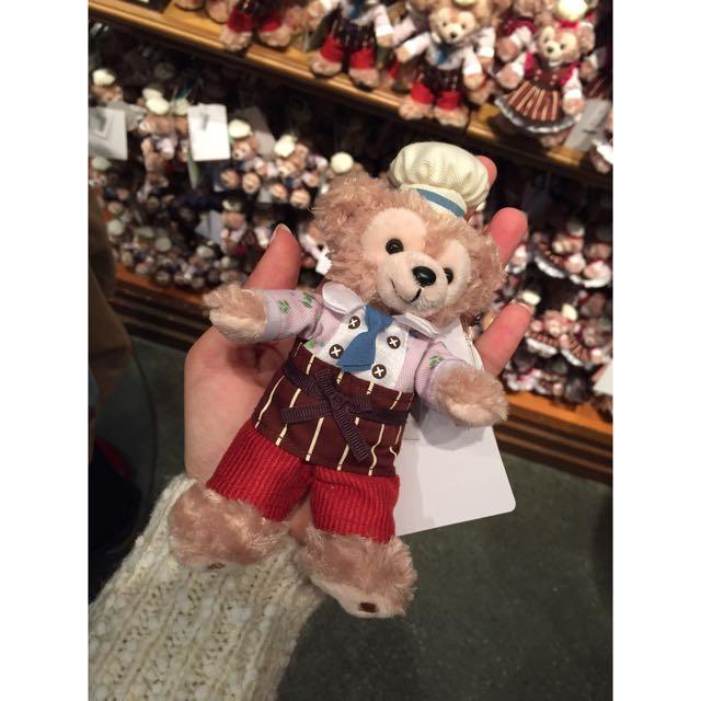 東京迪士尼(海洋)Duffy小熊-2015情人節限定版