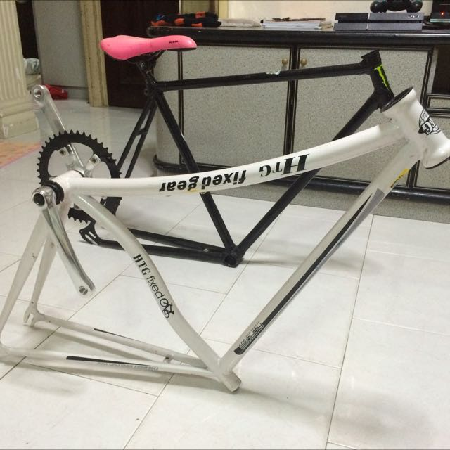 Htg And Vintage Fixie Frame, Sports on Carousell