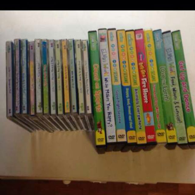 Sesame Street DVD and VCD, Babies & Kids on Carousell