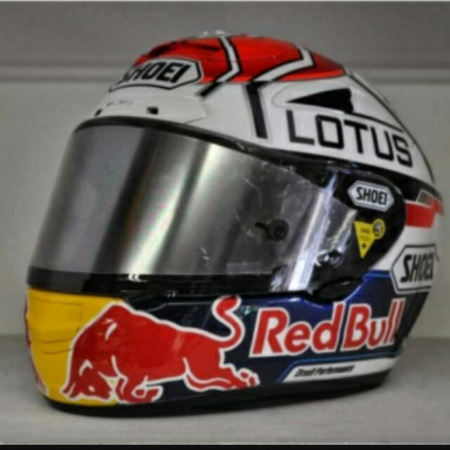 Shoei X12 Marc Marquez Motegi Red Bull, Car Accessories on Carousell