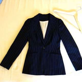 Dark Blue Office Blazer
