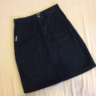 Dockers Short Skirt With Pockets
