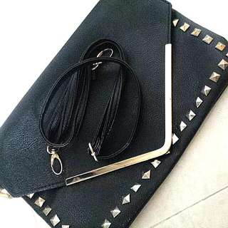 -PENDING- Studded Envelope Clutch