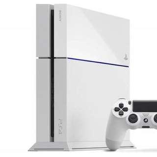 BNIB PS4 White.