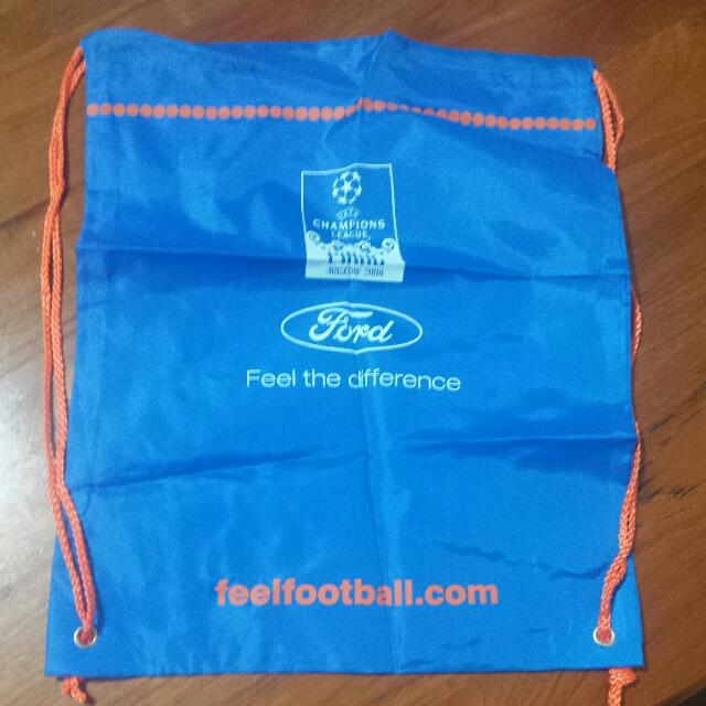 Official Uefa Champions League Final Moscow 2008 Sling Bag
