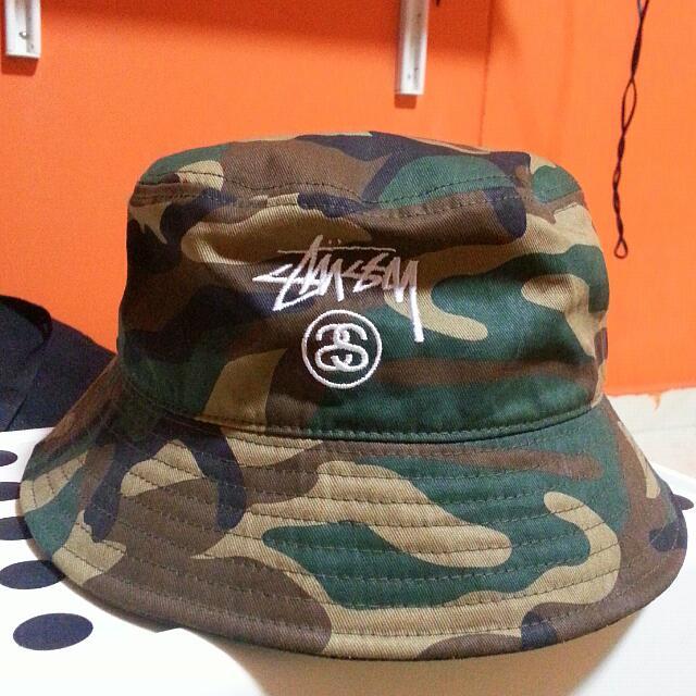 1941674817f Stussy Camo Bucket Hat