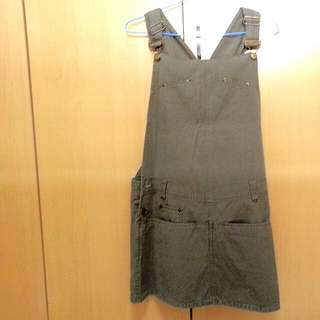 High Quality Material Dungaree Skirt