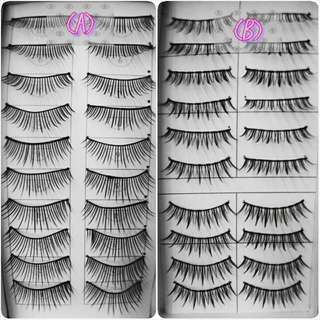False Eyelashes (natural-looking)👍