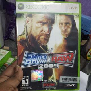 Xbox 360  Wwe