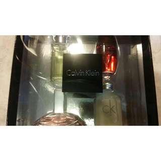 Calvin Klein Perfume Collection of 4