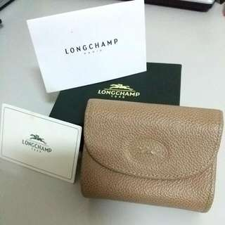 (PRICE REDUCED) BNIB Longchamp Saffiano Coin Pouch or Card Holder