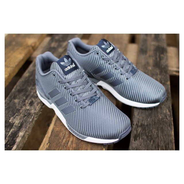 purchase cheap 0ad45 b036b Authentic Adidas Zx Flux Ballistic Woven Onix & White