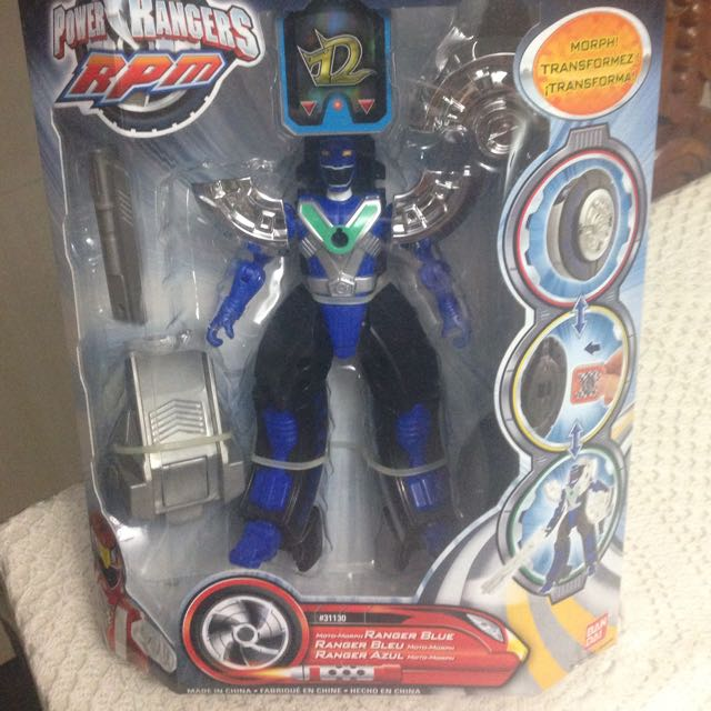 Road Attack Zord blue Power Rangers RPM, Toys & Games on ...