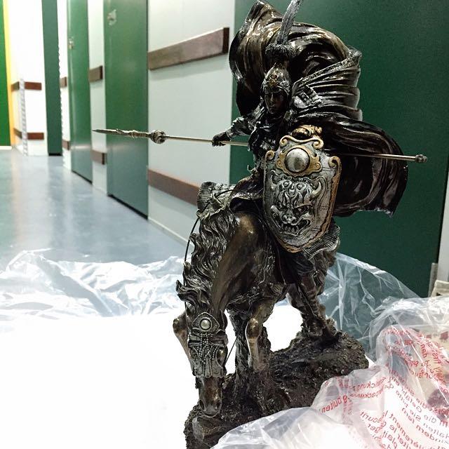 """Three Kingdoms Zhao Yun"" Collectibles Bronze Figurine"