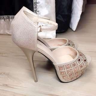 高跟鞋 涼鞋 全新