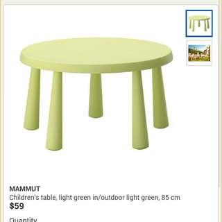 Ikea Children's Table (Preloved)