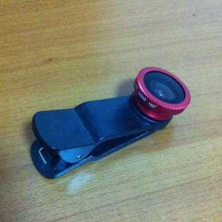 Clip-on Fish Eye Lens