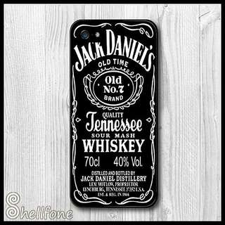 Jack Daniel's Tennessee Whiskey Phone Cover Case All iPhone Models