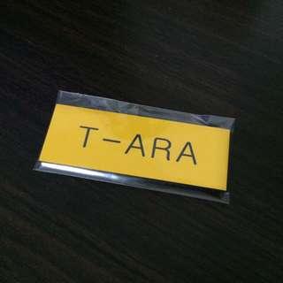 T-ARA Group Name Tag (English)
