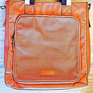 Delsey Full Tanned Leather Bag