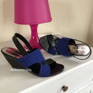 BLUE HOUNDSTOOTH 36 37 38 39 40