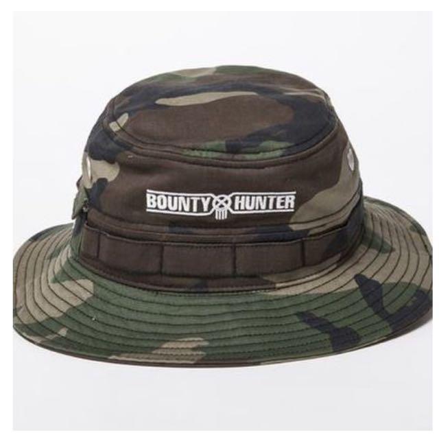 d287b953 Bounty Hunter New Era Jungle Camo Hat., Men's Fashion on Carousell
