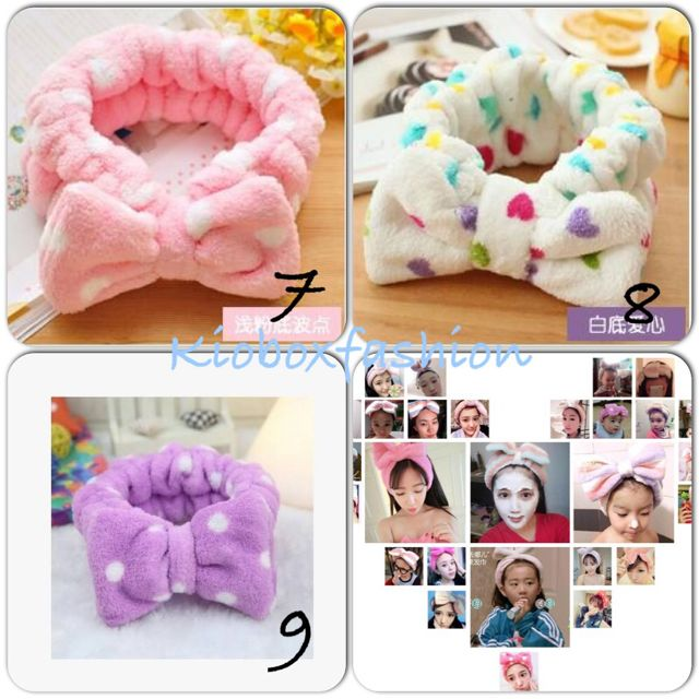Headband Korean Bow