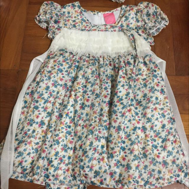 Strawberry Shortcake Floral Dress