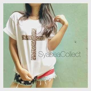 T-Shirt: Cross Leopard