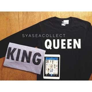 Couple Shirt (King & Queen)