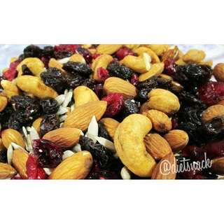 SUPERMIX (ALMOND, CASHEW, CRANBERRIES, RAISIN, SUNFLOWER SEED)