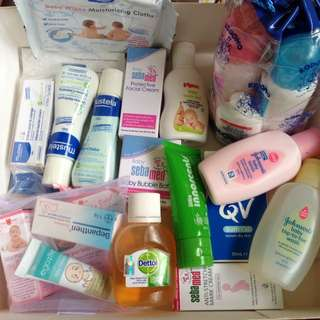 Baby Products. In Small Bottles Good For Traveling. Free. Self Collect.