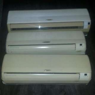 Aircon systems 3 Brand Sharp $500 Drop To $350