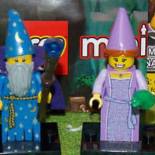 Lego Wizard And Princess