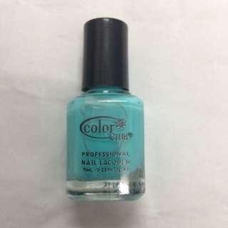 Color Club Professional Nail Lacquer Mini, Age Of Aquarius, 7ml