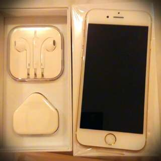 Iphone6 64gb. Gold Color, Brand New