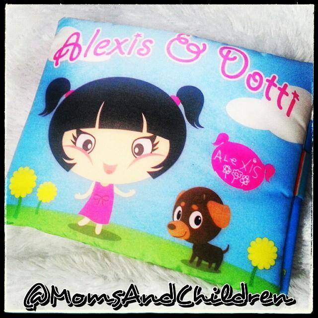 Buku Kain | Softbook : ALEXIS & DOTTI..