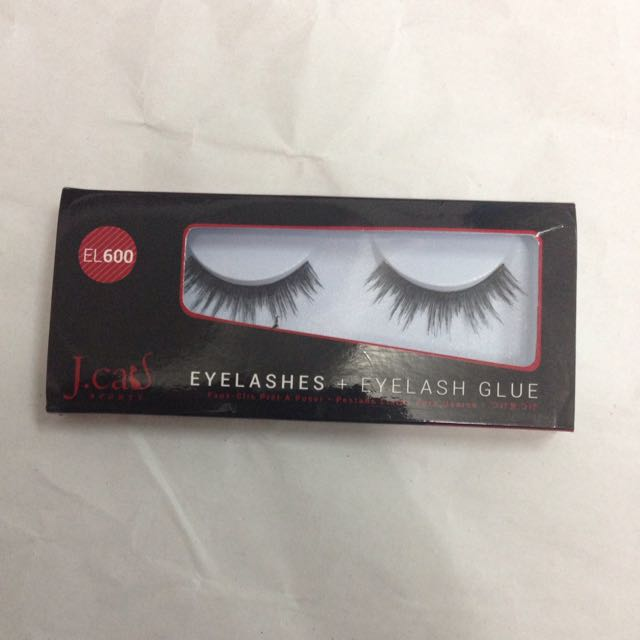 J.cats Eyelashes + Eyelash Glue, EL600